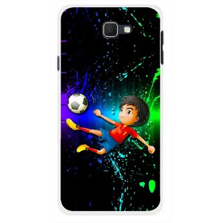 Snooky Printed High Kick Mobile Back Cover For Samsung Galaxy J5 Prime - Multicolour