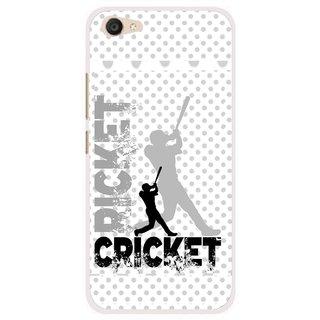 Snooky Printed Cricket Mobile Back Cover For Vivo V5 Plus - Multi