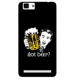 Snooky Printed Got Beer Mobile Back Cover For Vivo X5 Max - Multi