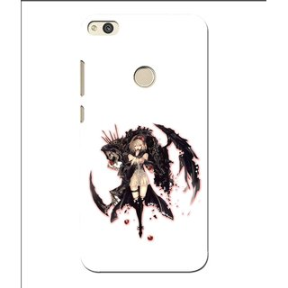 Snooky Printed Kungfu Girl Mobile Back Cover For Huawei Honor 8 Lite - Multi