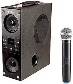 Flow Mini Boombox Bluetooth Tower Speaker KAROKE Wireless Mic-1.2Feet