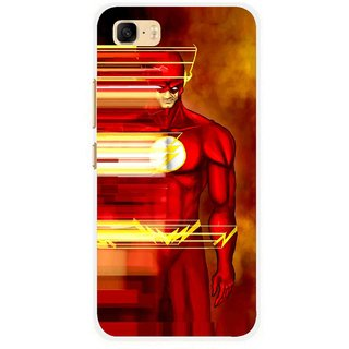Snooky Printed Electric Man Mobile Back Cover For Asus Zenfone 3s Max ZC521TL - Multi