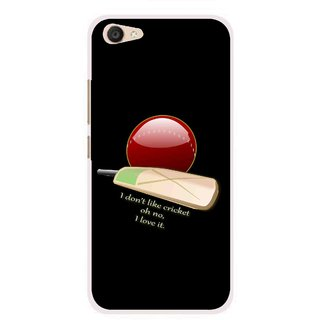 Snooky Printed Cricket Lover Mobile Back Cover For Vivo V5 Plus - Multi