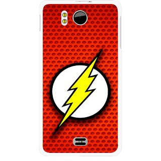 Snooky Printed Dont Touch Mobile Back Cover For Micromax Canvas DOODLE A111 - Multicolour