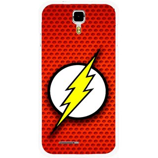 Snooky Printed Dont Touch Mobile Back Cover For Micromax Canvas Juice A177 - Multicolour