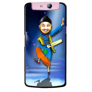 Snooky Printed Balle balle Mobile Back Cover For Oppo N1 - Multicolour