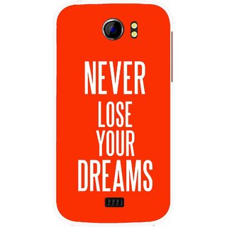 Snooky Printed Never Loose Mobile Back Cover For Micromax Canvas 2 A110 - Multicolour