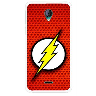 Snooky Printed Dont Touch Mobile Back Cover For Micromax Canvas Unite 2 - Multicolour