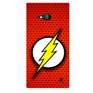 Snooky Printed Dont Touch Mobile Back Cover For Nokia Lumia 730 - Multicolour