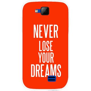 Snooky Printed Never Loose Mobile Back Cover For Micromax Canvas Fun A63 - Multicolour