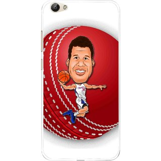 Snooky Printed Cricket Club Mobile Back Cover For Vivo Y55 - Multi