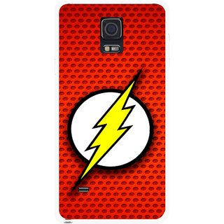 Snooky Printed Dont Touch Mobile Back Cover For Samsung Galaxy Note 4 - Multicolour