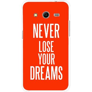 Snooky Printed Never Loose Mobile Back Cover For Samsung Galaxy G355 - Multicolour