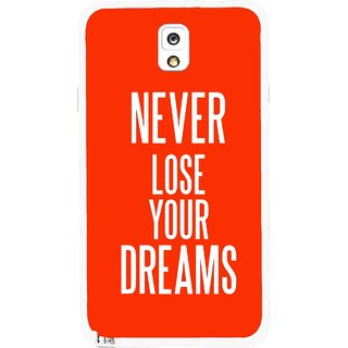 Snooky Printed Never Loose Mobile Back Cover For Samsung Galaxy Note 3 - Multicolour