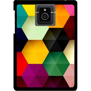 Snooky Printed Hexagon Mobile Back Cover For Blackberry Passport - Multicolour