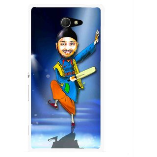Snooky Printed Balle balle Mobile Back Cover For Sony Xperia M2 - Multicolour