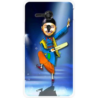 Snooky Printed Balle balle Mobile Back Cover For Sony Xperia SP - Multicolour