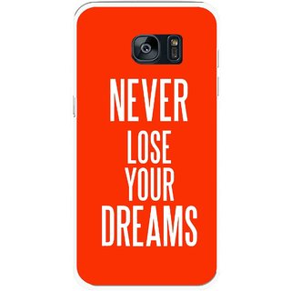 Snooky Printed Never Loose Mobile Back Cover For Samsung Galaxy S7 - Multicolour