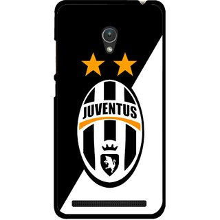 Snooky Printed Football Club Mobile Back Cover For Asus Zenfone Go ZC451TG - Multicolour