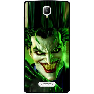 Snooky Printed Horror Wilian Mobile Back Cover For Oppo Neo 3 R831k - Multicolour