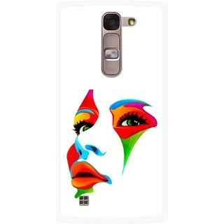 Snooky Printed Modern Girl Mobile Back Cover For Lg Spirit - Multi