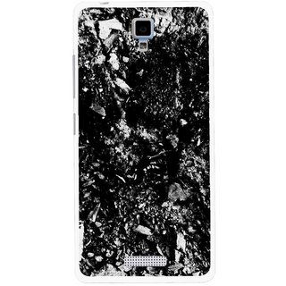 Snooky Printed Rocky Mobile Back Cover For Gionee Pioneer P4 - Multicolour