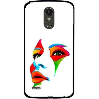Snooky Printed Modern Girl Mobile Back Cover For Lg Stylus 3 - Multi