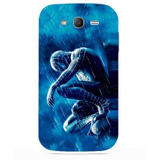 Snooky Printed Blue Hero Mobile Back Cover For Samsung Galaxy Grand I9082 - Multicolour