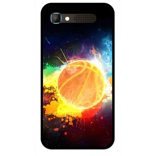 Snooky Printed Paint Globe Mobile Back Cover For Intex Aqua Y2 Pro - Multicolour