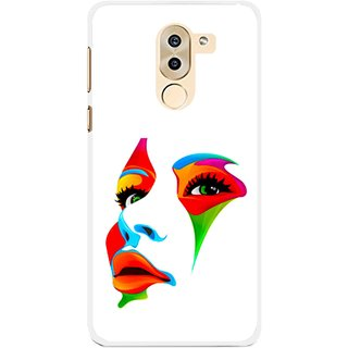 Snooky Printed Modern Girl Mobile Back Cover For Huawei Honor 6X - Multi