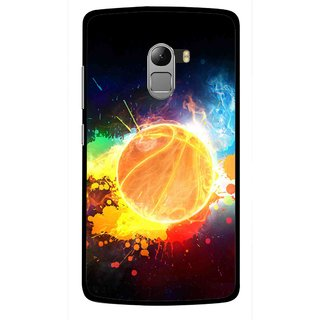 Snooky Printed Paint Globe Mobile Back Cover For Lenovo K4 Note - Multicolour