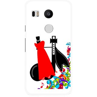 Snooky Printed Fashion Mobile Back Cover For Lg Google Nexus 5X - Multi