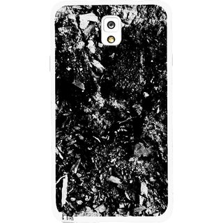 Snooky Printed Rocky Mobile Back Cover For Samsung Galaxy Note 3 - Multicolour