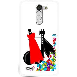 Snooky Printed Fashion Mobile Back Cover For Lg L Bello - Multi