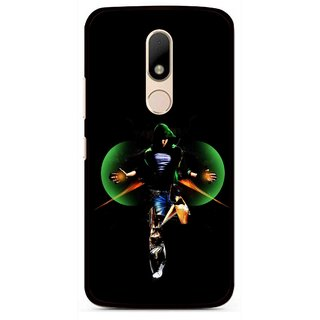 Snooky Printed Hero Mobile Back Cover For Motorola Moto M - Multi