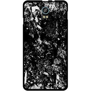Snooky Printed Rocky Mobile Back Cover For Intex Aqua Life 2 - Multicolour