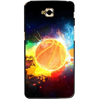 Snooky Printed Paint Globe Mobile Back Cover For Lg G Pro Lite - Multicolour
