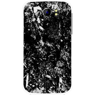 Snooky Printed Rocky Mobile Back Cover For Micromax Canvas 2 A110 - Multicolour