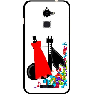 Snooky Printed Fashion Mobile Back Cover For Coolpad Note 3 Lite - Multi