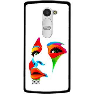 Snooky Printed Modern Girl Mobile Back Cover For Lg Leon - Multi
