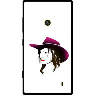 Snooky Printed Tom Boy Mobile Back Cover For Nokia Lumia 520 - Multi