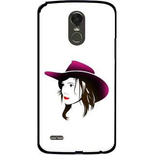 Snooky Printed Tom Boy Mobile Back Cover For Lg Stylus 3 - Multi