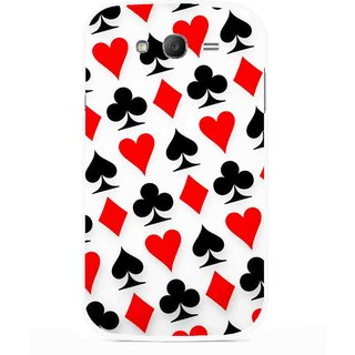 Snooky Printed Playing Cards Mobile Back Cover For Samsung Galaxy Grand I9082 - Multicolour