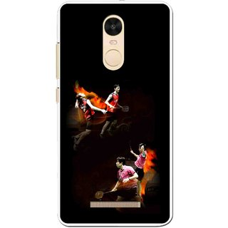 Snooky Printed Sports Player Mobile Back Cover For Gionee S6s - Multi
