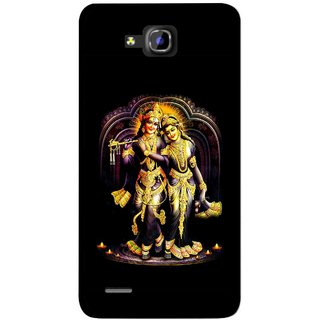 Snooky Printed Radha Krishan Mobile Back Cover For Huawei Honor 3C - Multicolour