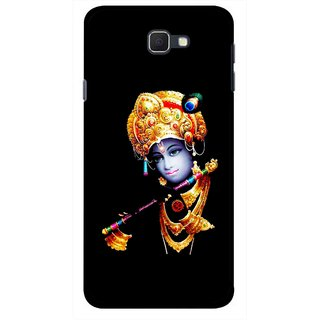 Snooky Printed God Krishna Mobile Back Cover For Samsung Galaxy J5 Prime - Multicolour
