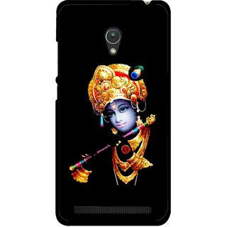 Snooky Printed God Krishna Mobile Back Cover For Asus Zenfone Go ZC451TG - Multicolour