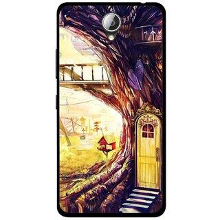 Snooky Printed Dream Home Mobile Back Cover For Lenovo A5000 - Multicolour