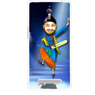 Snooky Printed Balle balle Mobile Back Cover For Oppo Find 7 - Multicolour