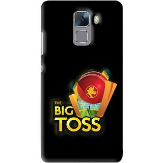 Snooky Printed Big Toss Mobile Back Cover For Huawei Honor 7 - Multi